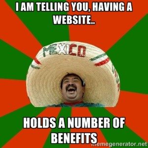 Benefits of a website